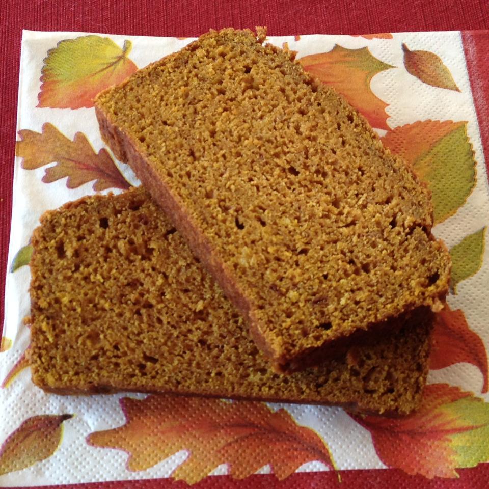 Spiced Pumpkin Bread Kellie Herbert