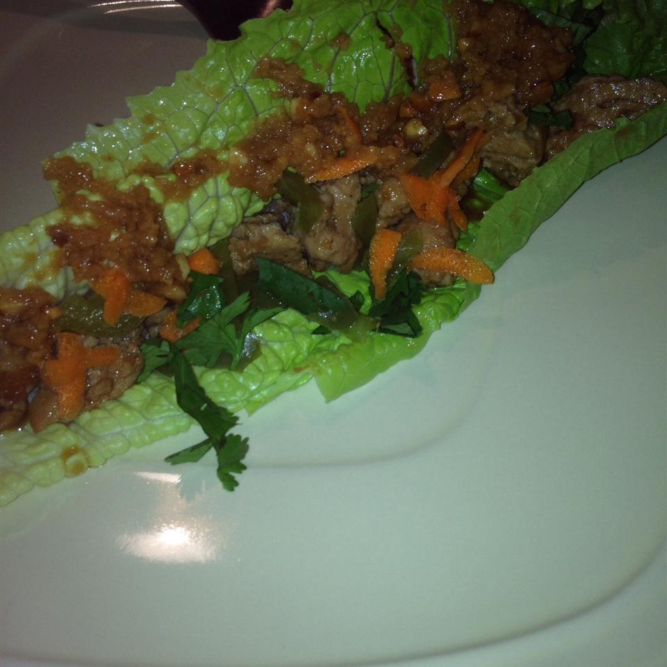 Chicken Lettuce Wraps NatNat