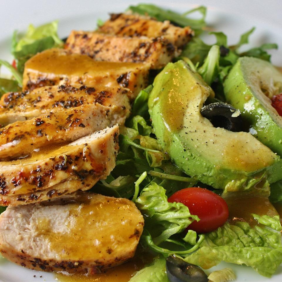 Fab Summer Blackened Chicken Salad devilsdancefloor