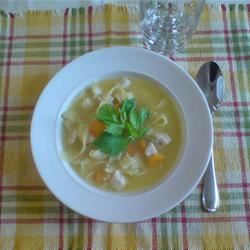 Super Easy Chicken Noodle Soup