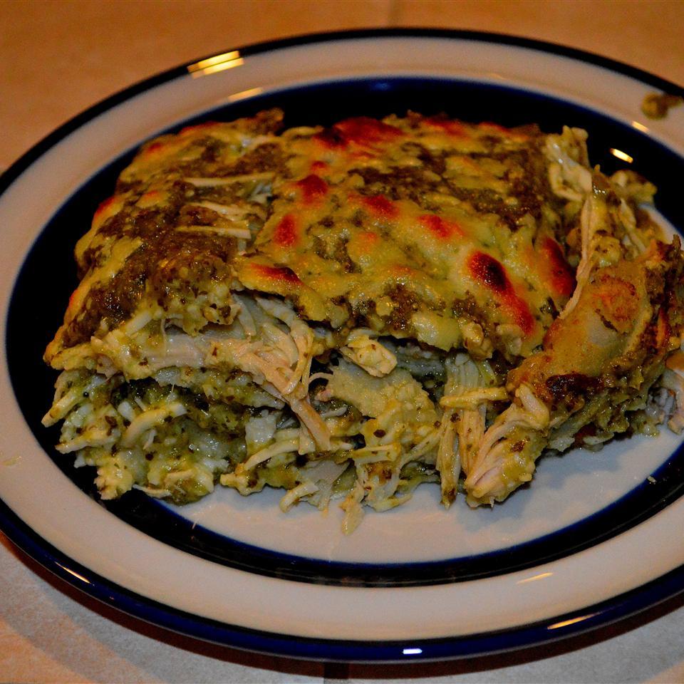 Chicken Enchiladas Verdes Ann Shriner Thomas