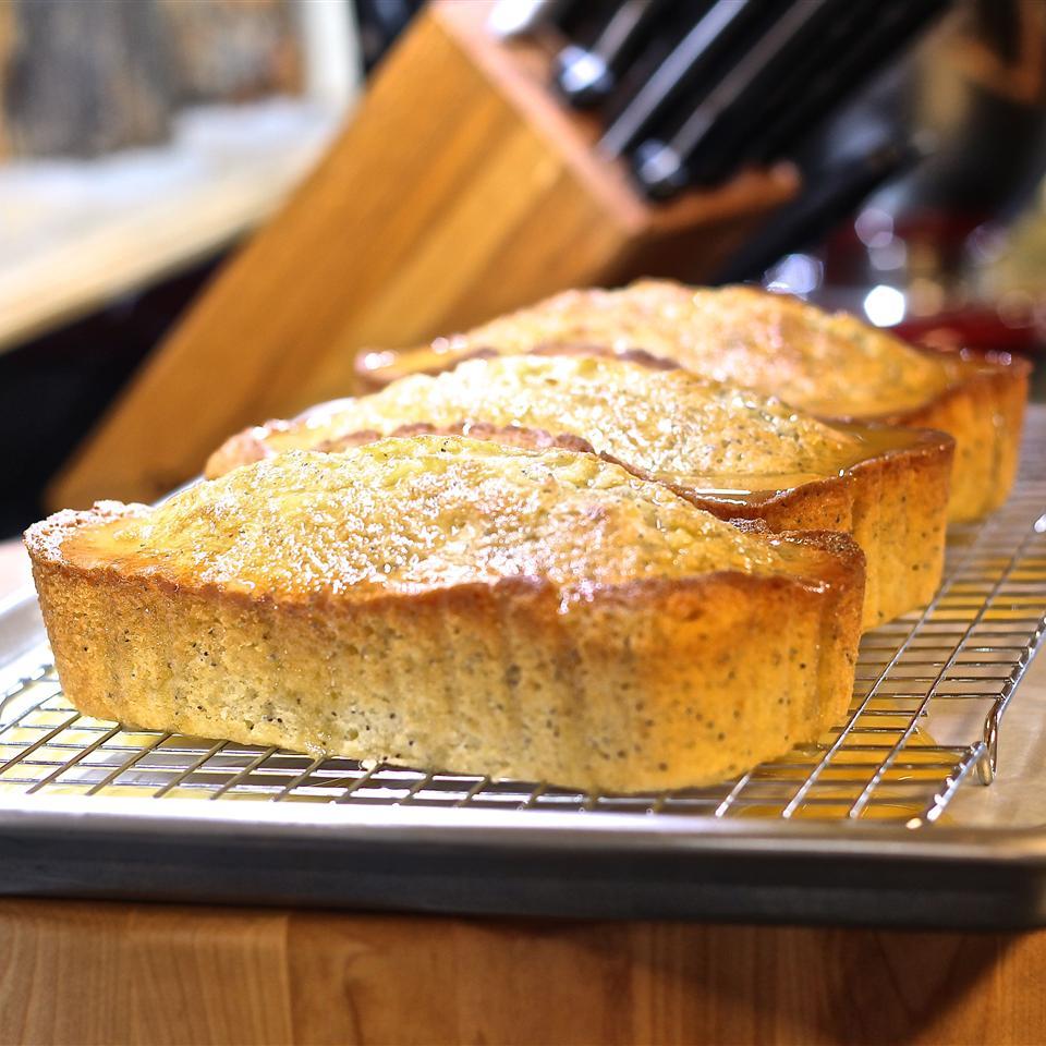 Orange-Almond Poppy Seed Bread CookinCyn