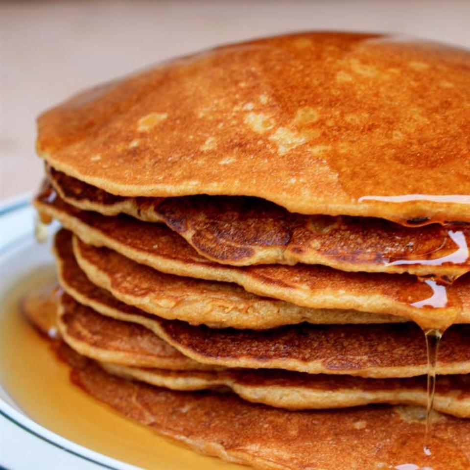 Helen's Priceless Pumpkin Pancakes Montana Mike