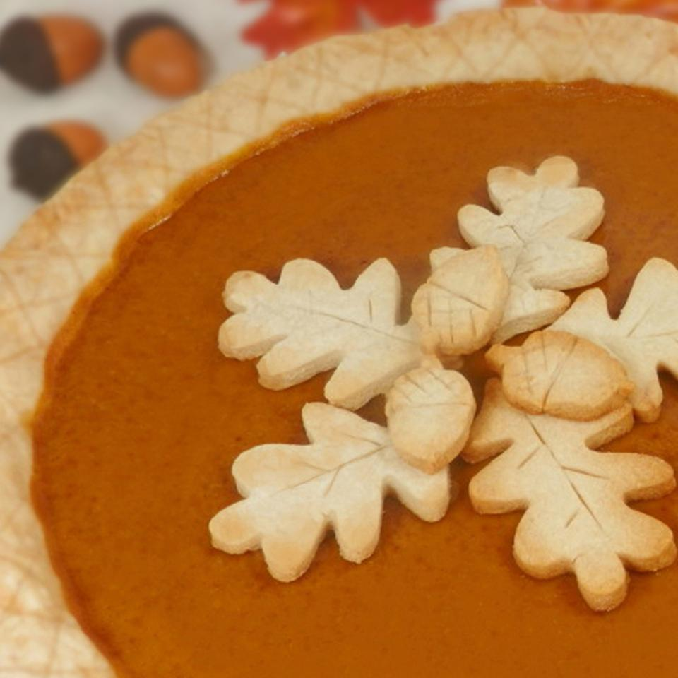Homemade Fresh Pumpkin Pie_image