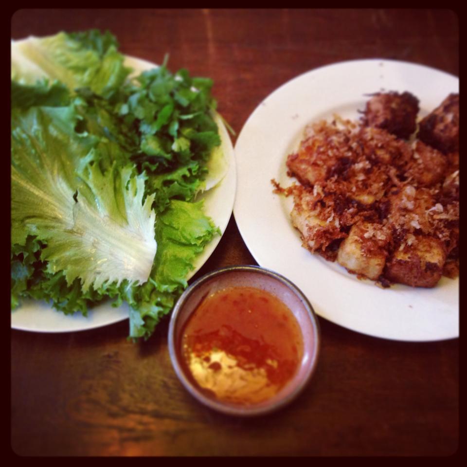 Oven-Baked Coconut Tofu sarahmagali