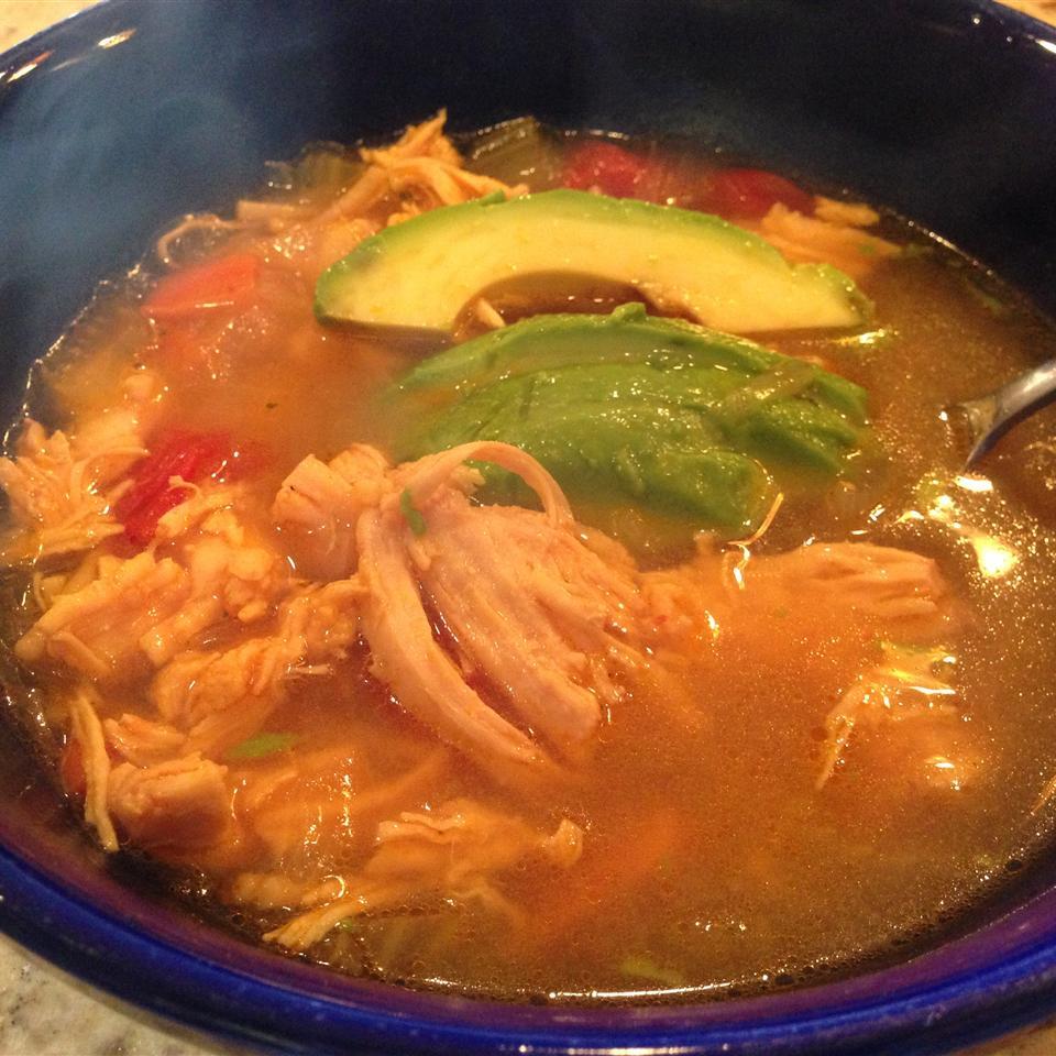 Caldo De Pollo (Mexican Chicken Soup) Loretta