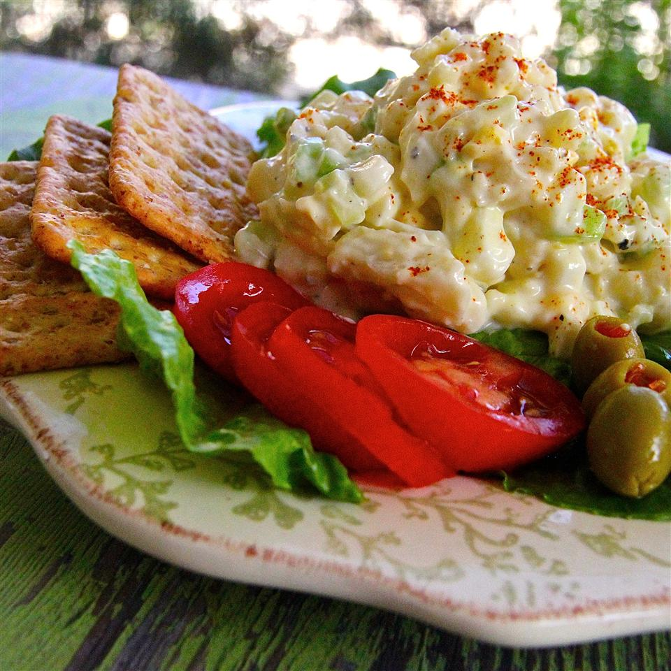 Creamy Cauliflower Egg Salad