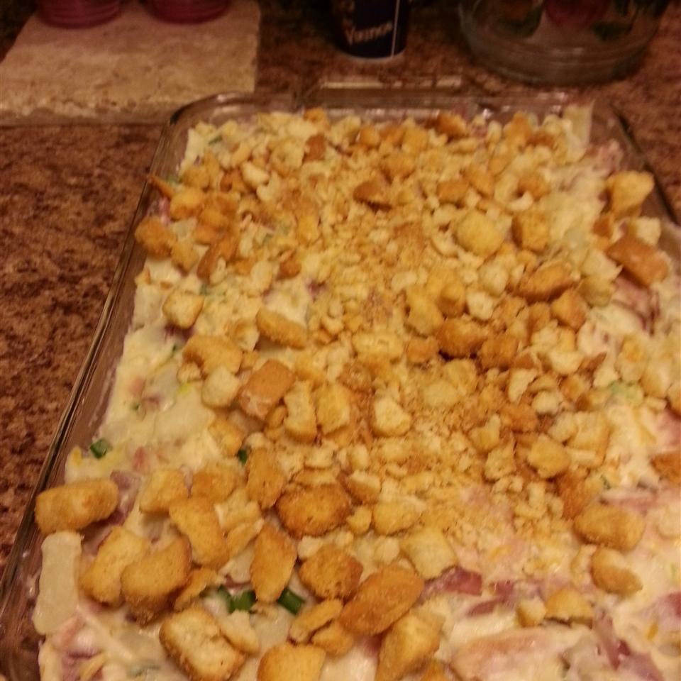Heavenly Potatoes and Ham