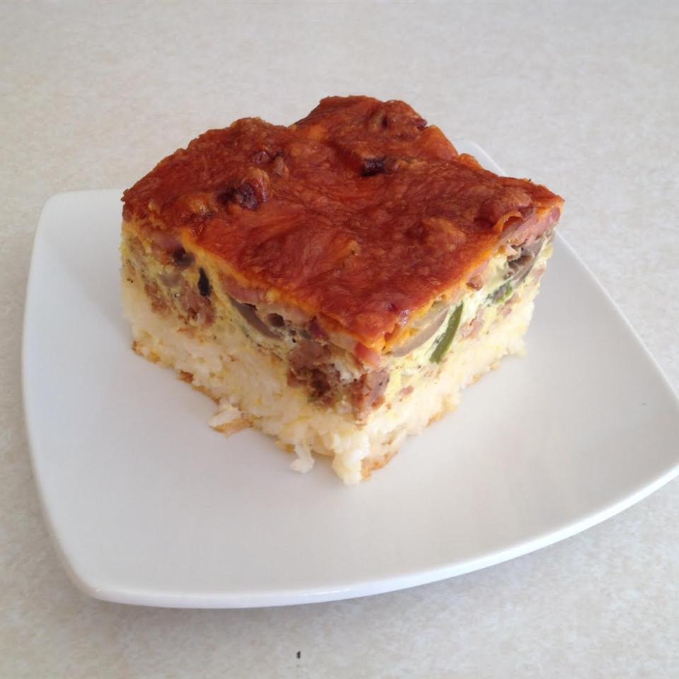 Rice-Based Breakfast Bake