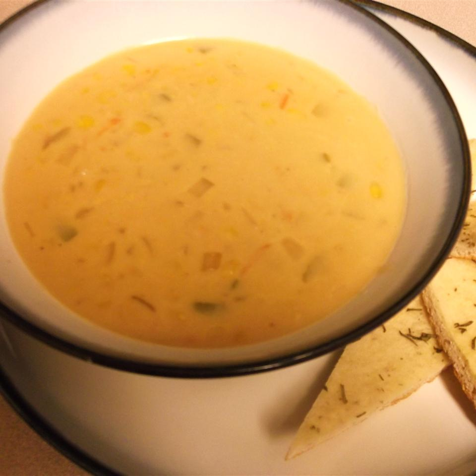 Easy Vegetarian Corn Chowder