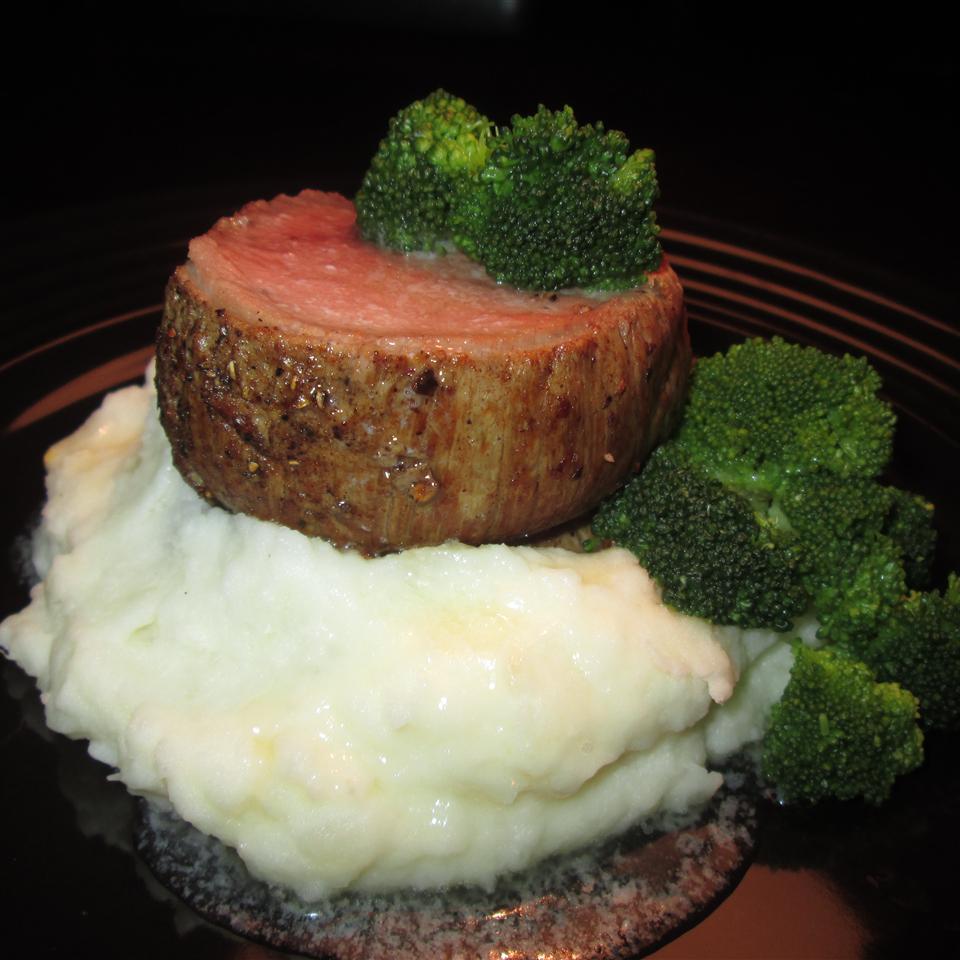 Pan Roasted Beef Tenderloin with Ginger-Shiitake Brown Butter Ryan Nomura