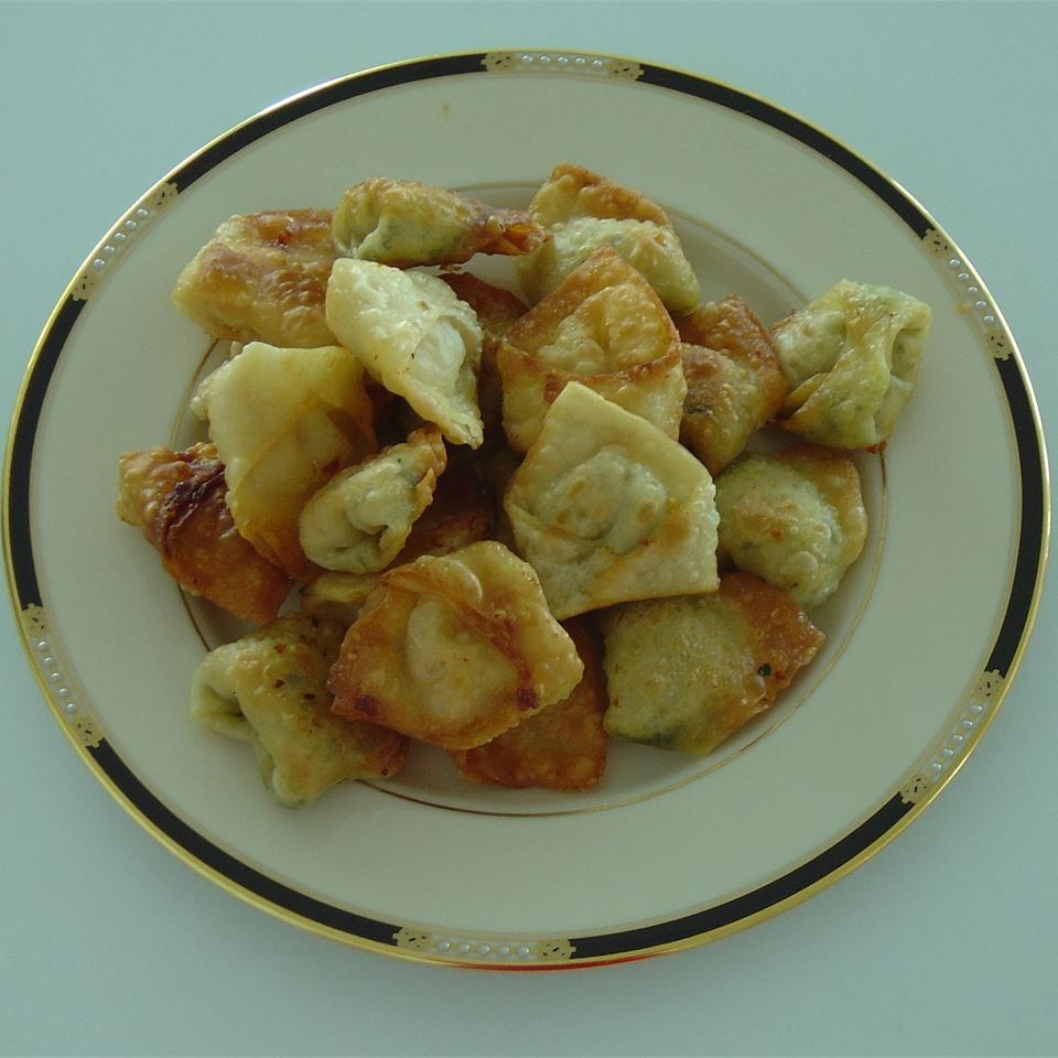 Spicy Chicken and Cilantro Wontons JOAN-A