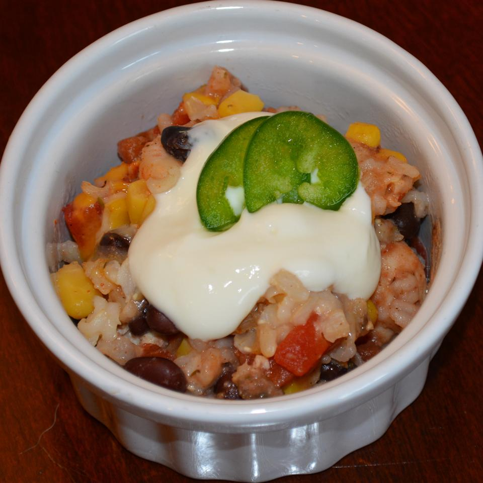 DASH Diet Mexican Bake