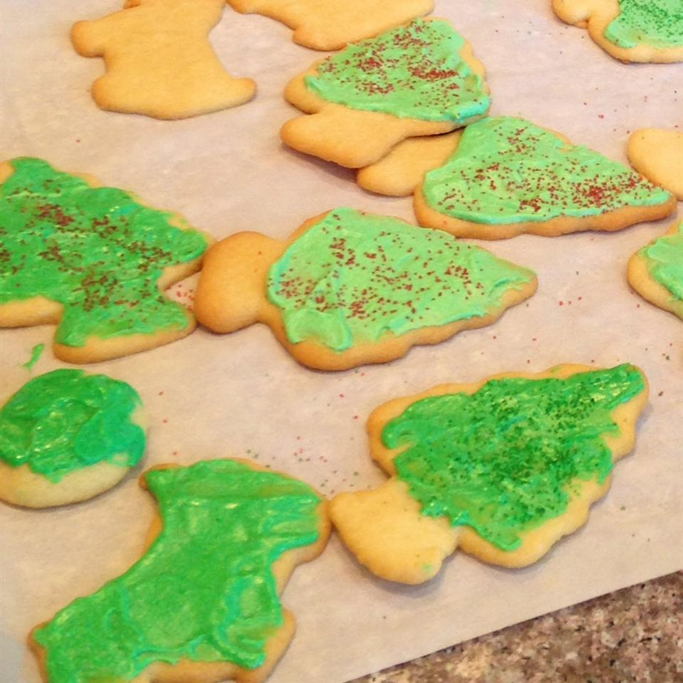 Butter Icing For Sugar Cookies Recipe Allrecipes