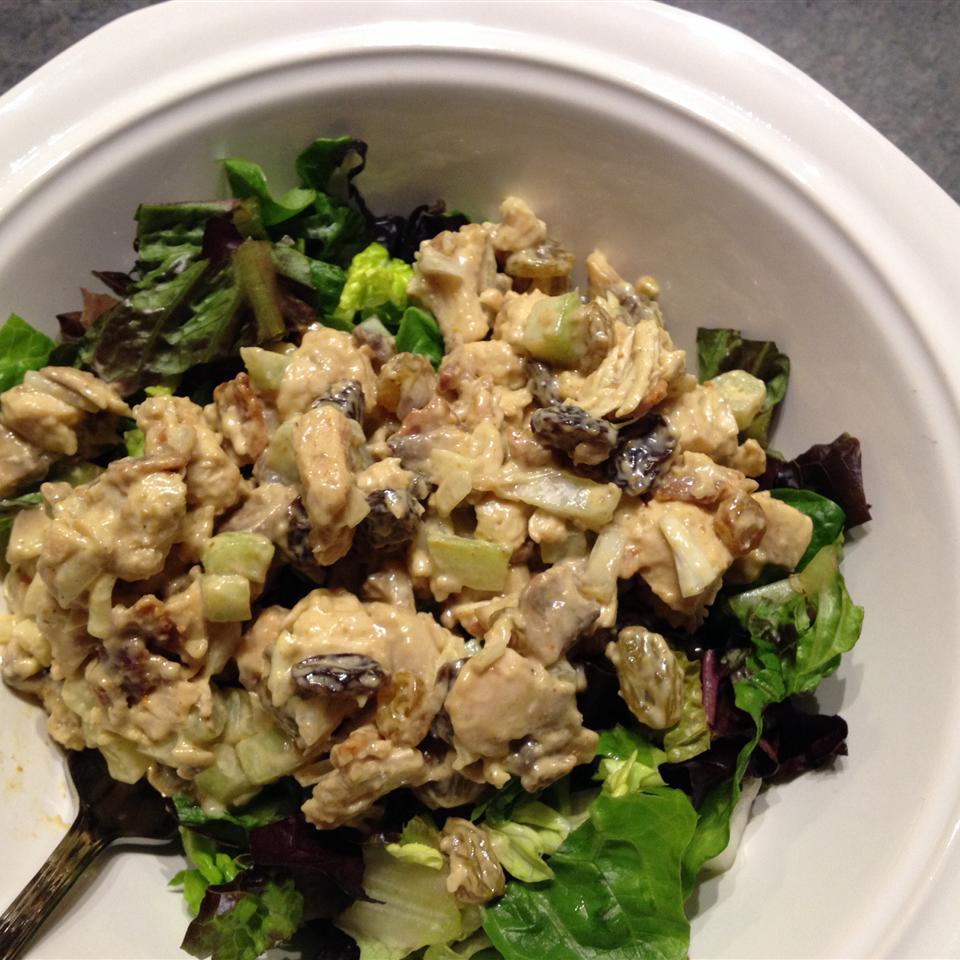 Curried Chicken Salad prchick