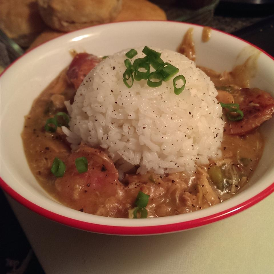 Cajun Chicken and Sausage Gumbo Jodi Hanlon