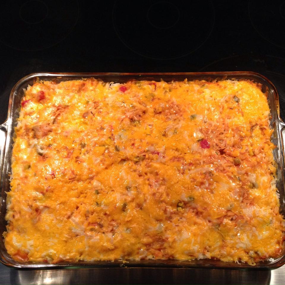 Salsa Chicken Rice Casserole allisonb