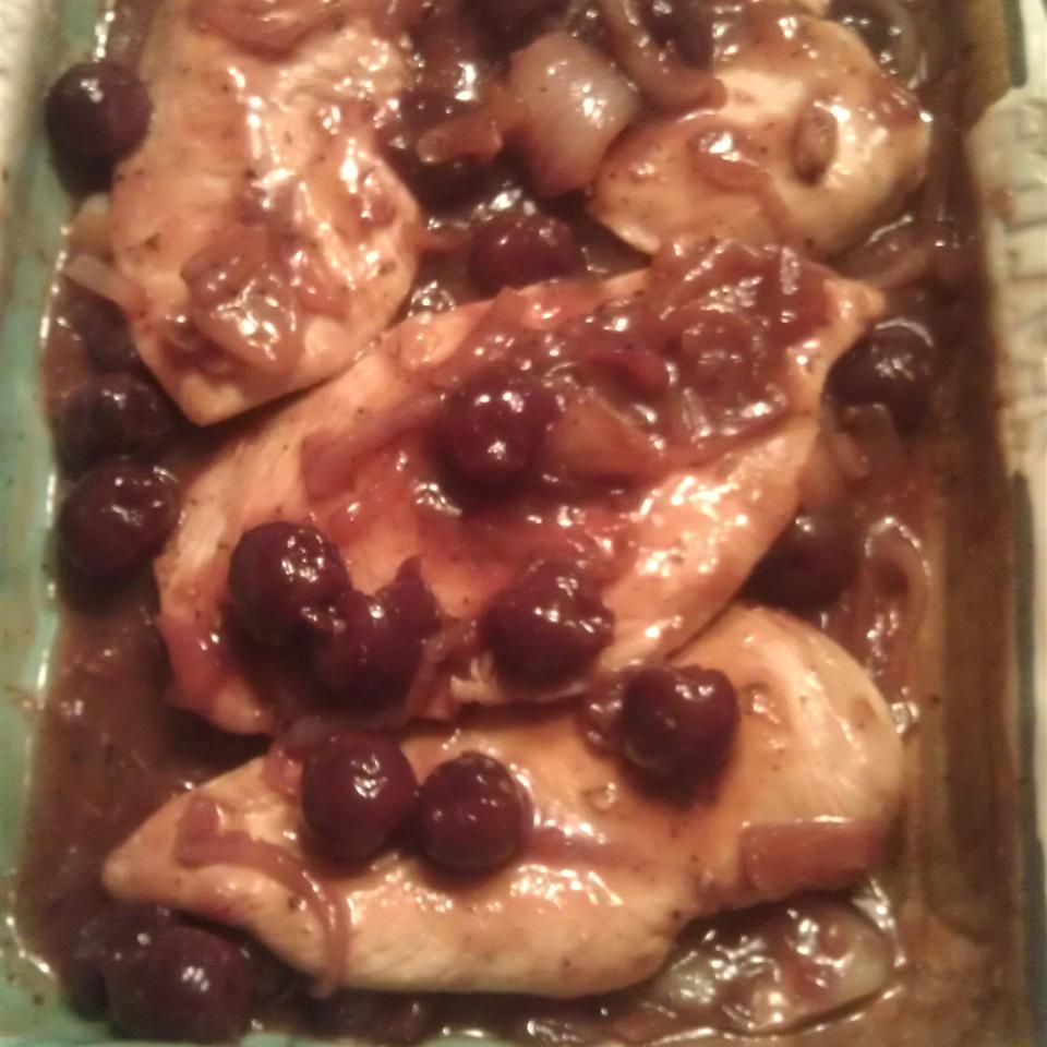 Cherry Wine Chicken