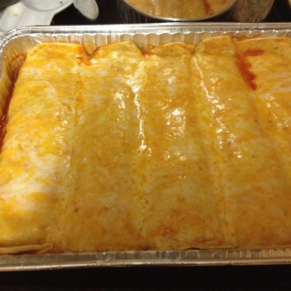 Chicken Enchiladas with Sour Cream Tracy Anderson Steichmann