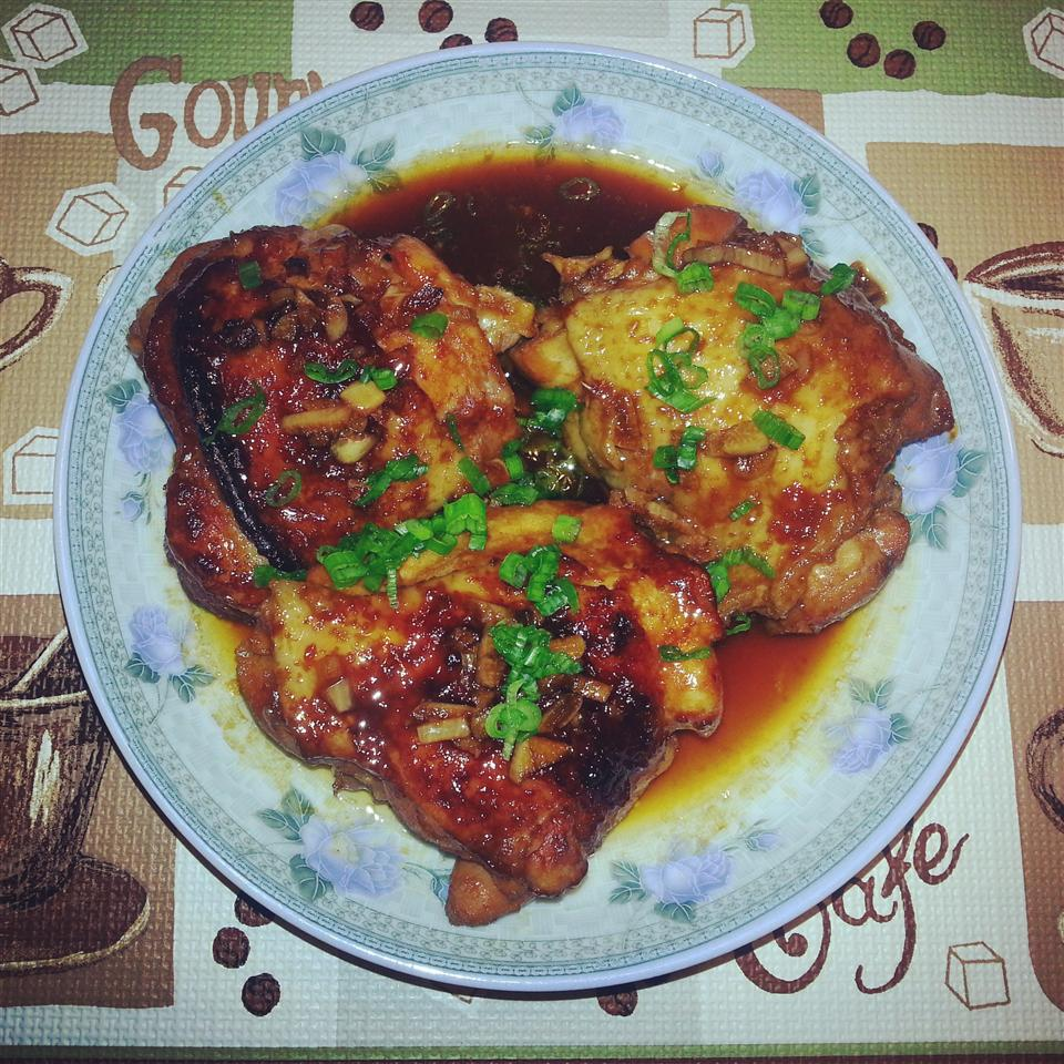 Caramelized Baked Chicken Bella