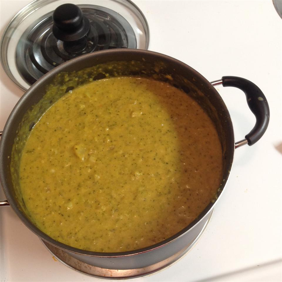 Tim Perry's Soup (Creamy Curry Cauliflower and Broccoli Soup) Eric D.