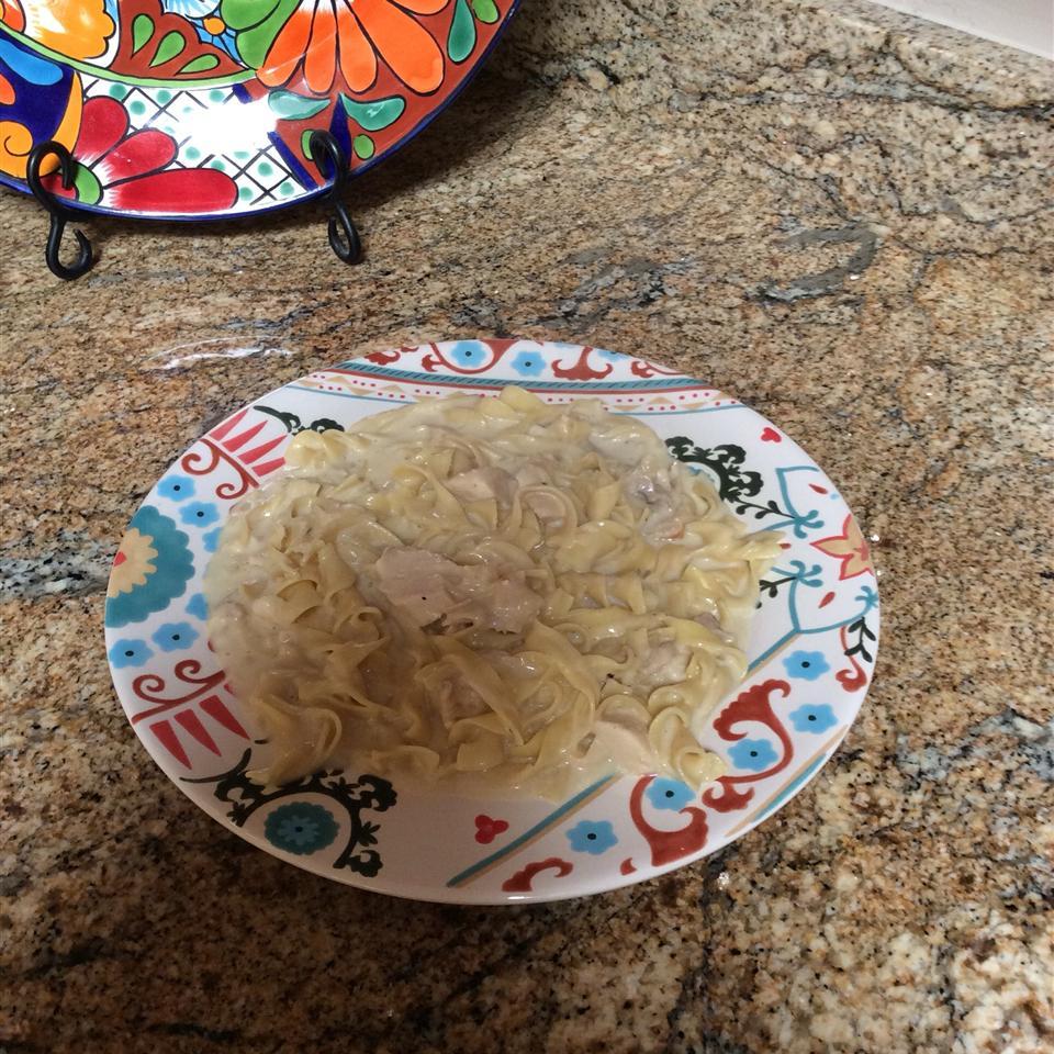 Creamy Chicken and Noodles PressureCooker
