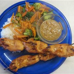 Sweet and Spicy Chicken Satay SHANLEI
