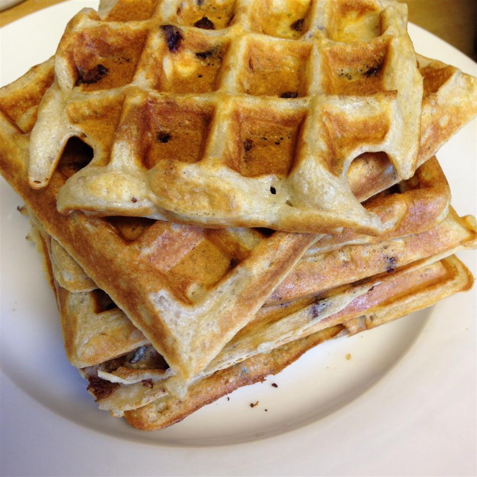 Kate's Light n' Fluffy Buttermilk and Chocolate Chip Waffles_image