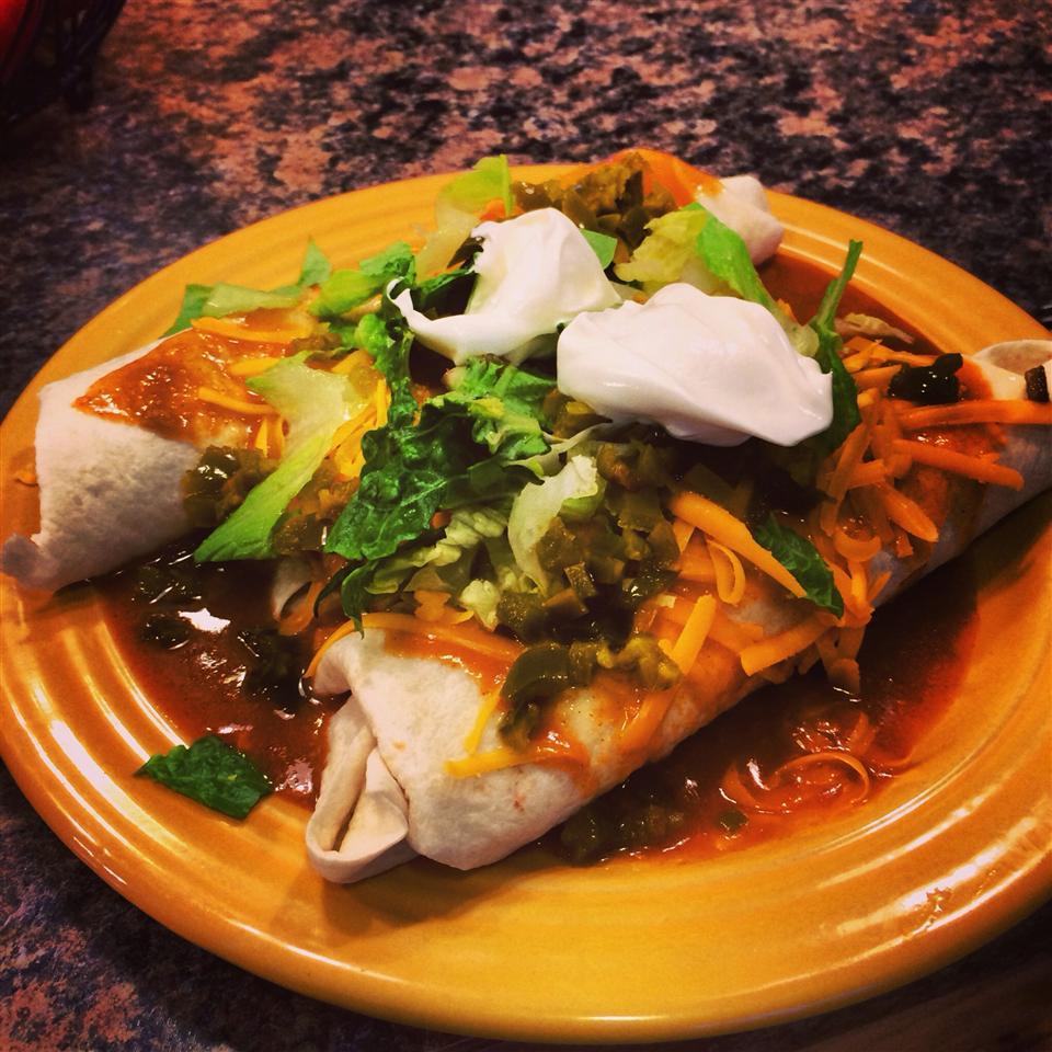 Super Easy Slow Cooker Chicken Enchilada Meat Kari Shifflett