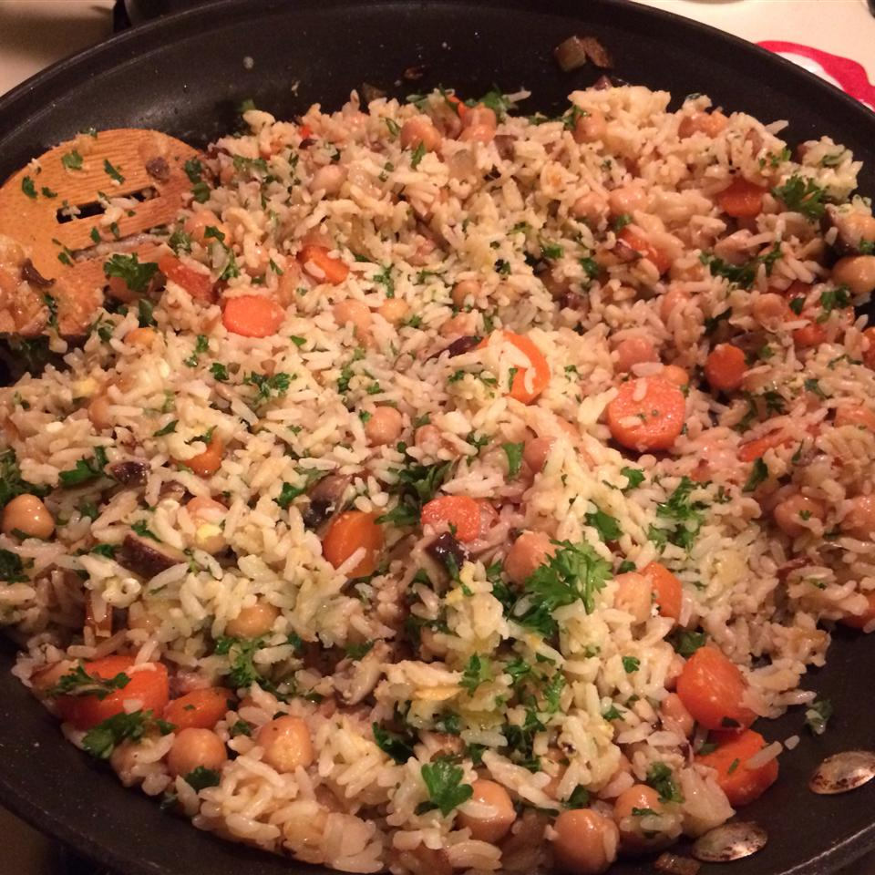 Home-Style Brown Rice Pilaf Jacqueline Bruno