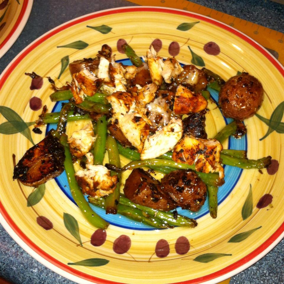 Garlic Chicken and Potatoes