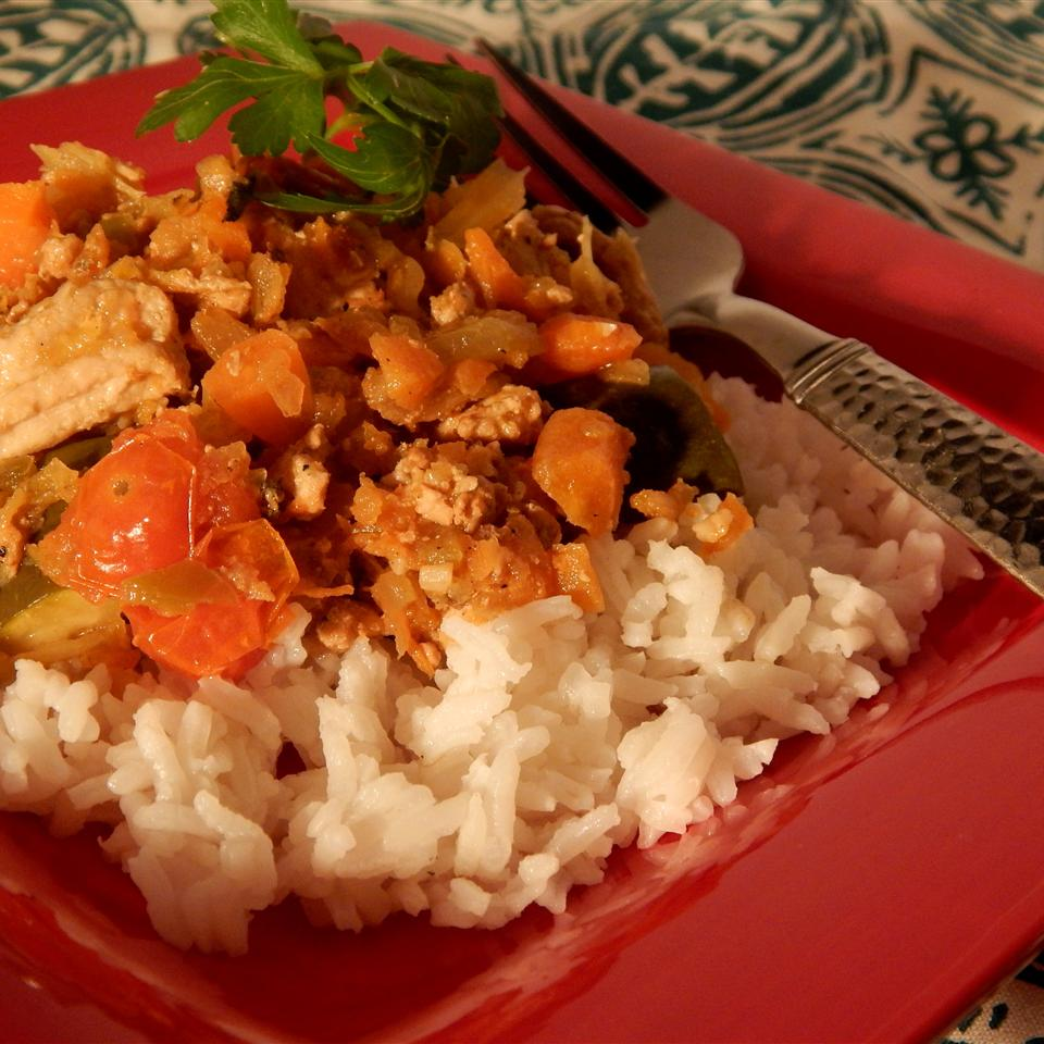 Ground Chicken Stew Mme Rocha