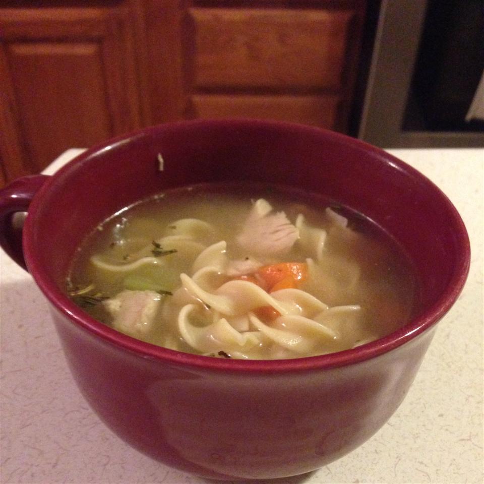 Sensational Chicken Noodle Soup