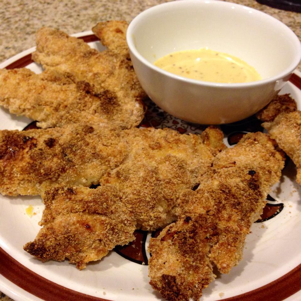 Honey Mustard Oven-Baked Chicken Tenders Jeff