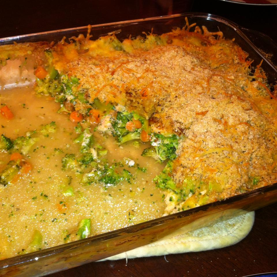 Cheesy Chicken Broccoli Bake MDSHEPP