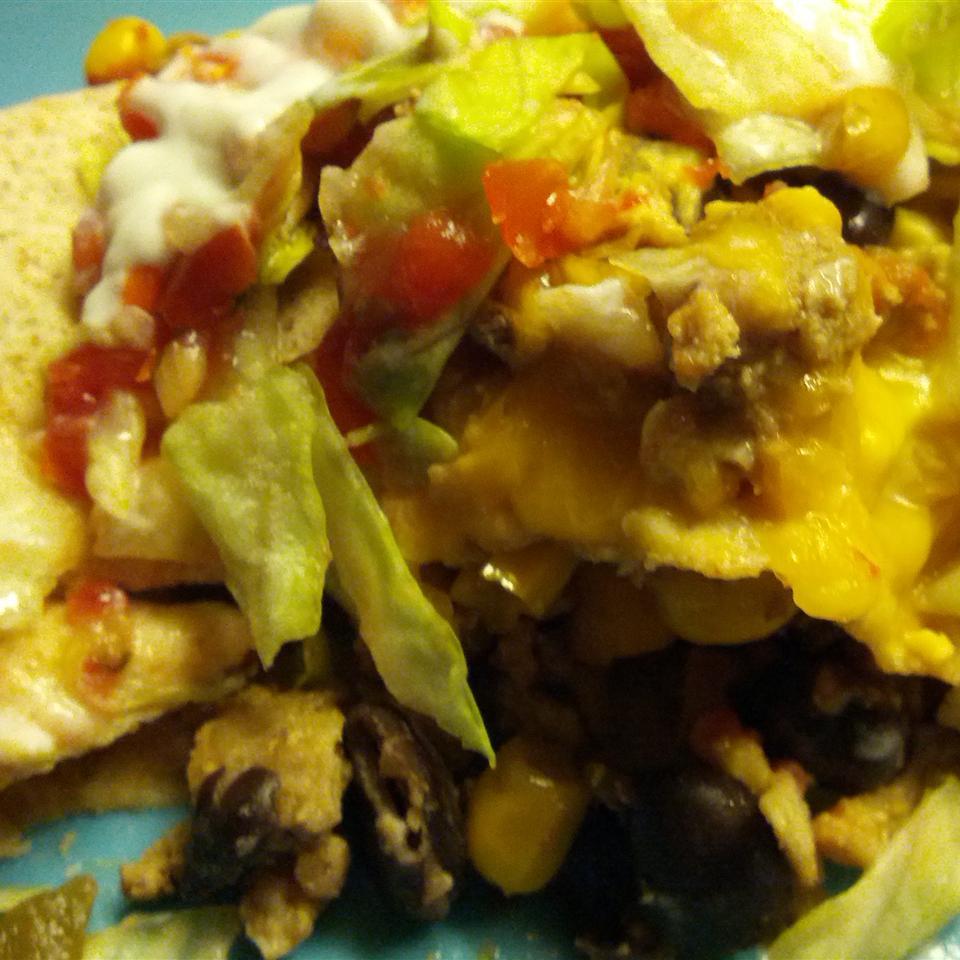 Ang's Turkey Burritos
