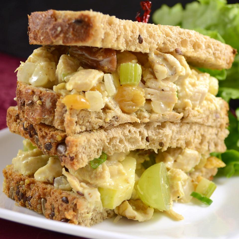 Fruity Curry Chicken Salad Karen L. Baker