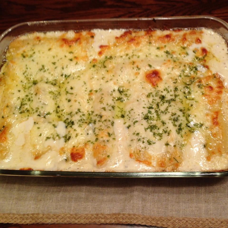 Chicken Manicotti Alfredo Jeff Ellison