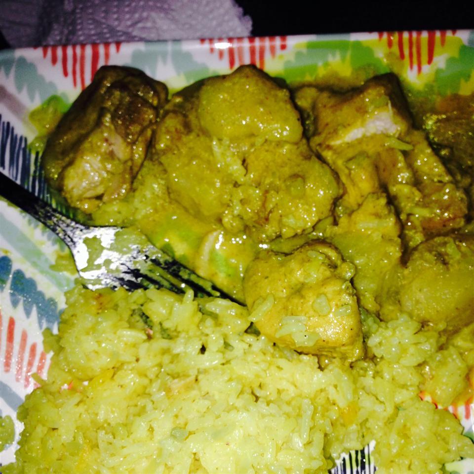 West Indian Curried Chicken