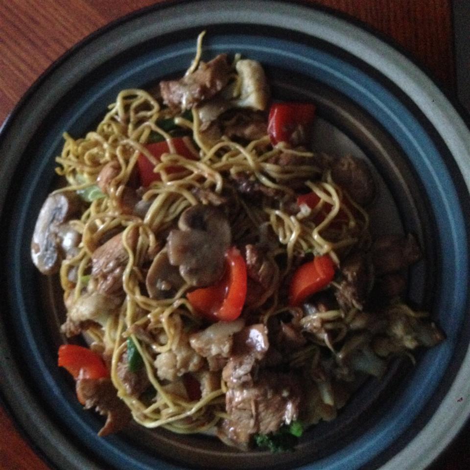 Stir-Fry Chicken and Vegetables Darin
