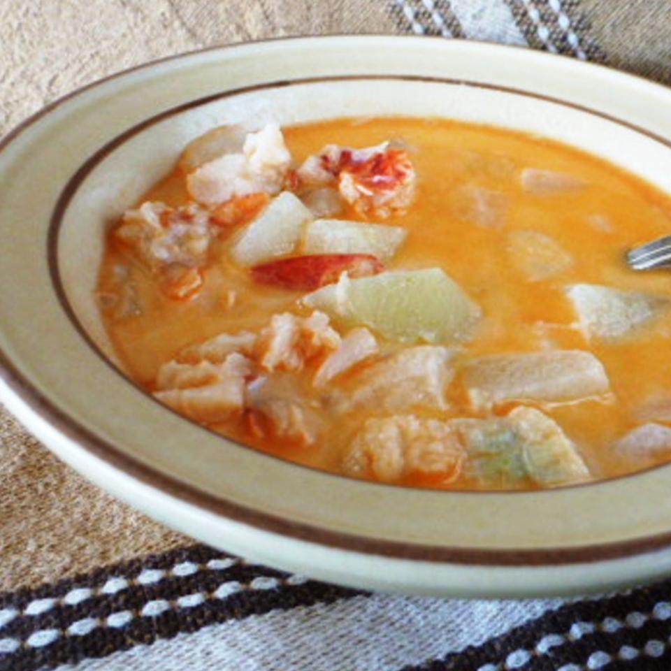 Grandpa Seamone's 'Lobster Chowder'