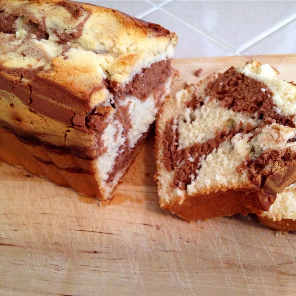 Marble Swirl Pound Cake
