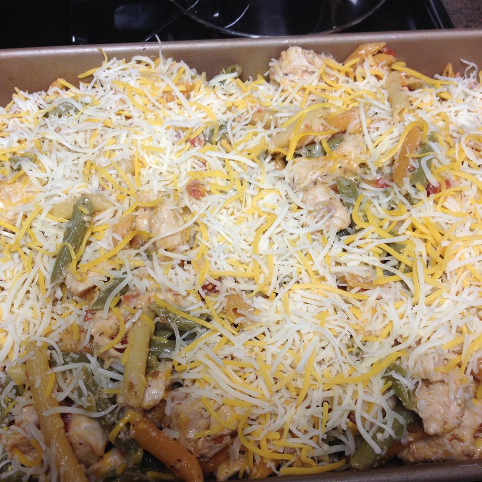 Oven-Baked Chicken Linguine