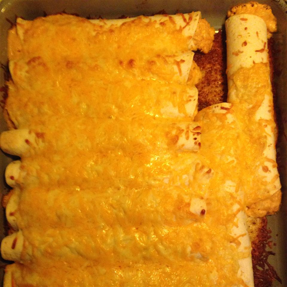 Easy Chicken Enchiladas PCWMom