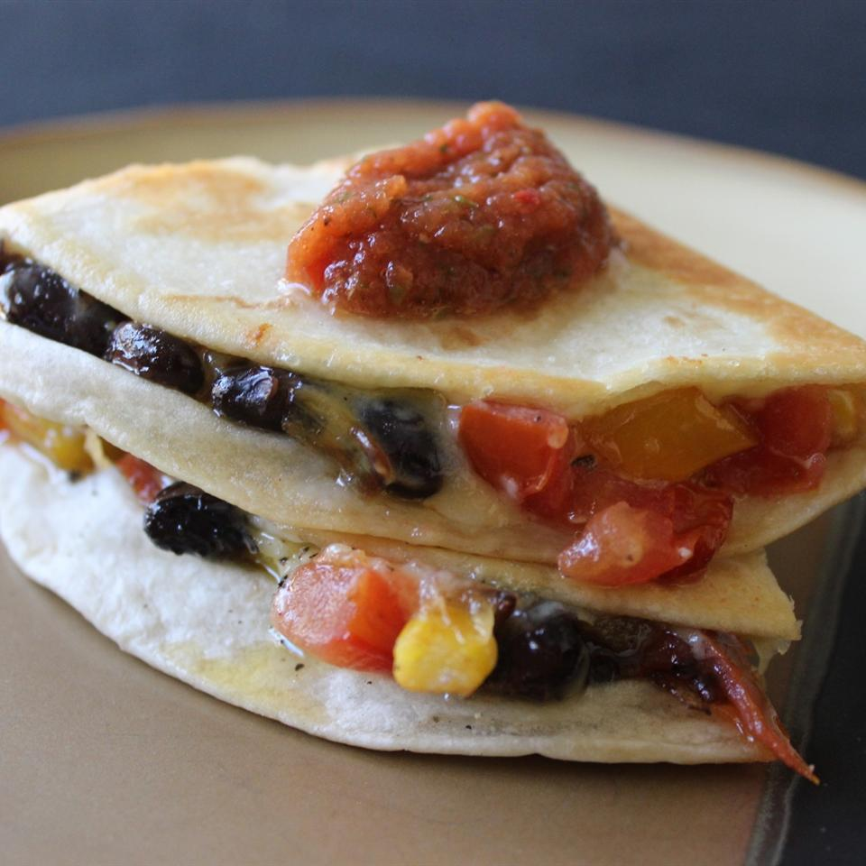 Bean Quesadillas