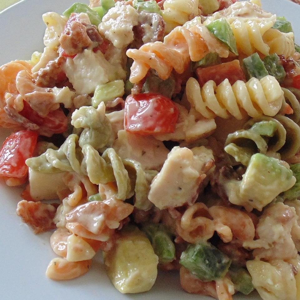 Chicken Club Pasta Salad Lane J