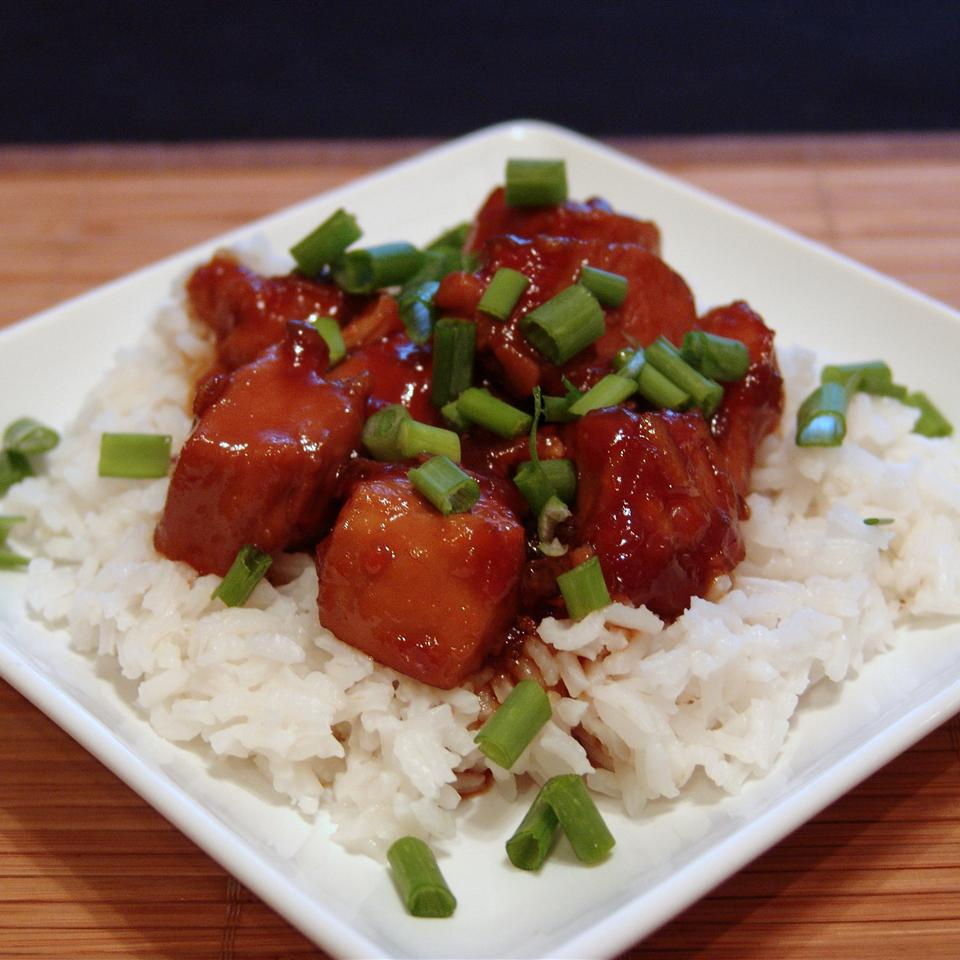 Sweet Sriracha Chicken princesspottymouth