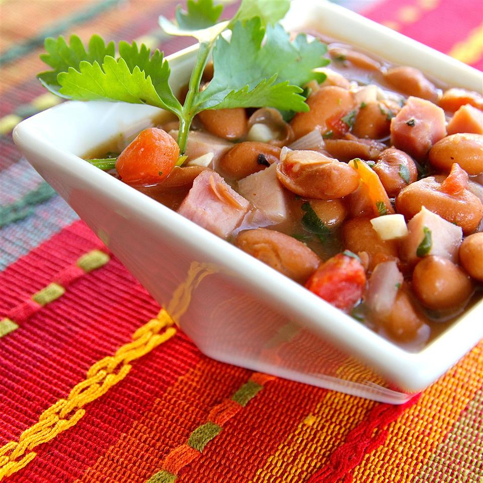 Easy Cowboy Beans (Frijoles Charros)
