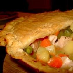 Low-Fat Chicken Pot Pie chefbuzz