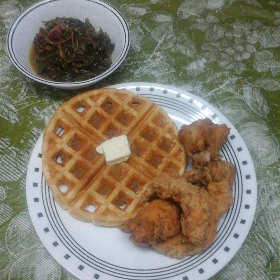 Waffle Iron Cornbread_image